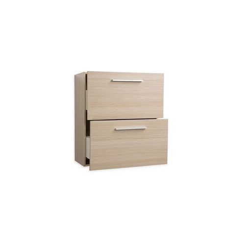 Beliani Meble łazienkowe - szafka wisząca łazienkowa beżowa - murcia