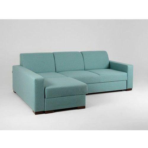 Customform Narożnik z funkcją spania lozier l błękitna laguna- różne kolory tapicerki