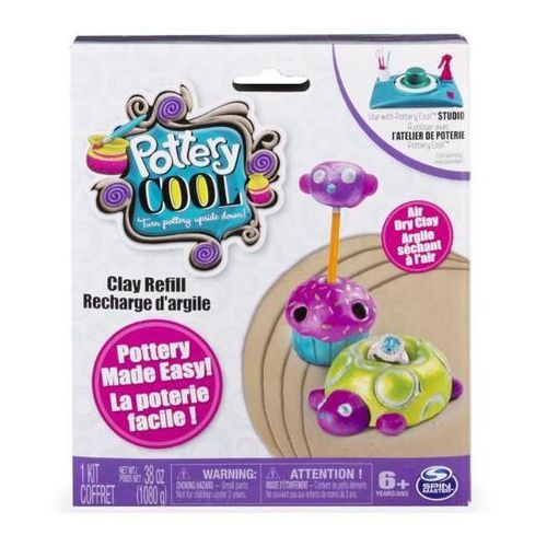 Spin Master Pottery Cool - glina zapas - produkt w magazynie - szybka wysyłka!