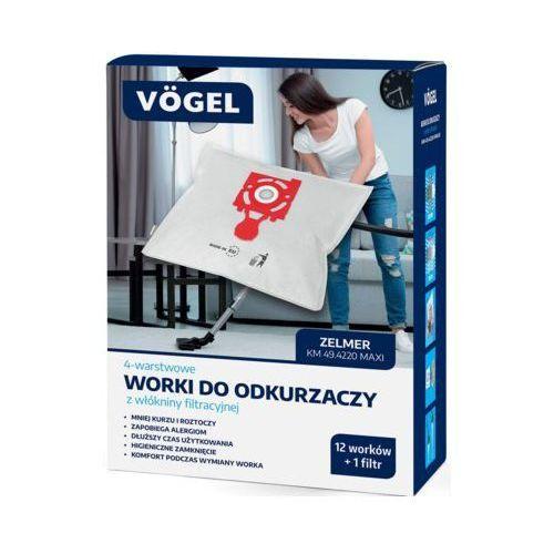 Worek do odkurzacza km 49.4220 maxi (12 sztuk+1 filtr) marki VÖgel