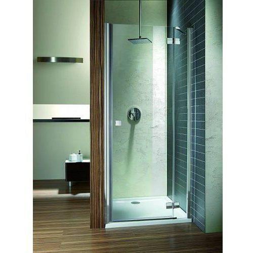 drzwi wnękowe almatea dwj 90 prawe, szkło grafitowe wys. 195 cm. 31102-01-05n marki Radaway