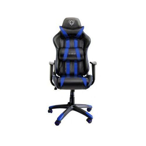 Fotel dla gracza DIABLO CHAIRS X-One Czarno-niebieski (5902560332094)