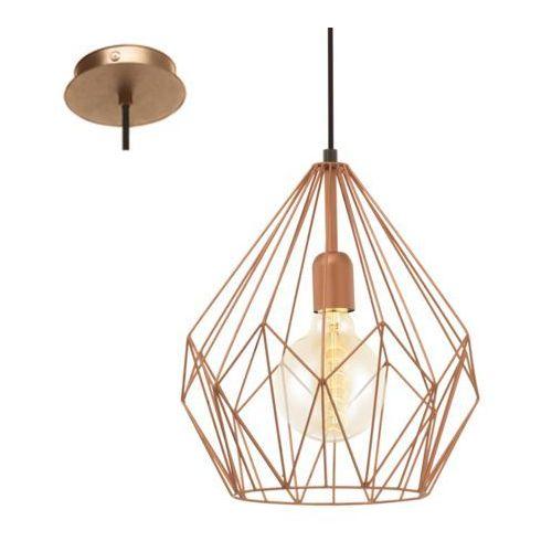 Eglo 49258 - lampa wisząca vintage 1xe27/60w/230v (9002759492588)