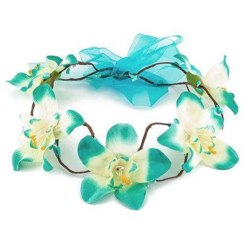 Wianek orchidea niebieska - NIEBIESKA