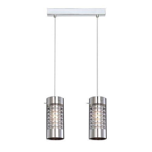 LAMPA wisząca SIGMA MDM1681/2 Italux zwis OPRAWA tuby chrom, kolor Srebrny