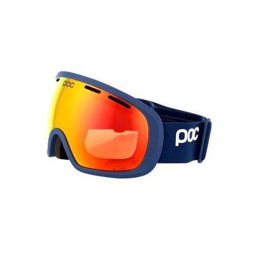 POC FOVEA CLARITY Gogle narciarskie basketane blue/spektris orange (7325540918299)