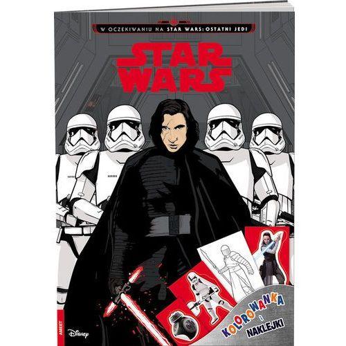 Star Wars Kolorowanka i naklejki - Ameet OD 24,99zł DARMOWA DOSTAWA KIOSK RUCHU (9788325327743)