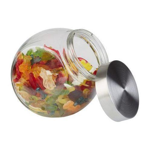 Pojemnik szklany z pokrywką | 1L | 125x190x180mm