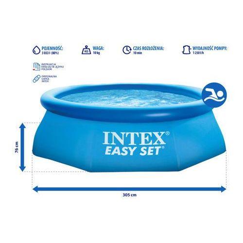 Basen rozporowy, 305 x 76 cm - darmowa dostawa kiosk ruchu marki Intex