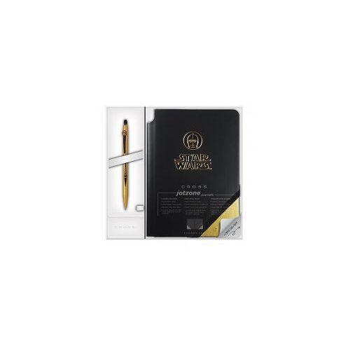 Cross Zestaw długopis click + notatnik star wars c-3po