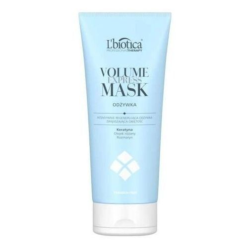 L`biotica L'biotica professional therapy volume express mask odżywka zwiększająca objętość 200ml