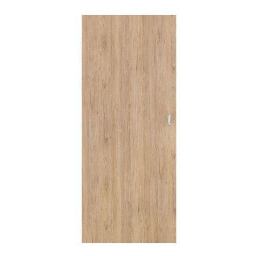 Drzwi pełne przesuwne Exmoor 80 bezfelcowe dąb skalny (5900378200901)