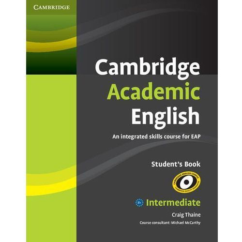 Cambridge Academic English B1+ Intermediate Student's Book (podręcznik), oprawa miękka