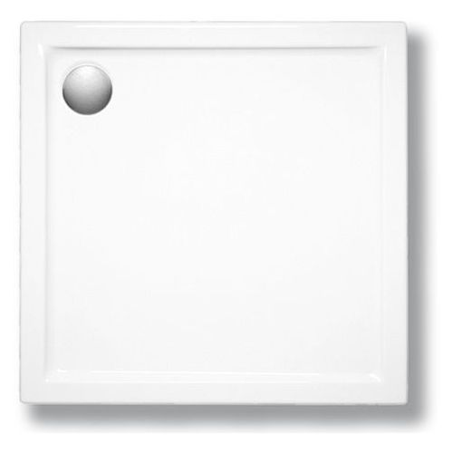 SCHEDPOL CORRINA Brodzik kwadratowy 90cm, akrylowy 3.061 (5907527052985)