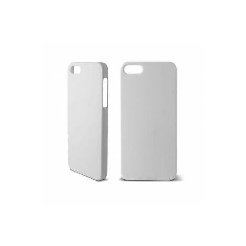 KSIX Etui HARD COVER RUBBER dedykowane do Apple iPhone SE/5S/5 - białe Odbiór osobisty w ponad 40 miastach lub kurier 24h, towar z kategorii: Futerały i pokrowce do telefonów