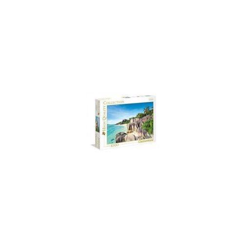 Puzzle 1000 elementów hight quality - rajska plaża - poznań, hiperszybka wysyłka od 5,99zł! marki Clementoni