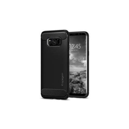 Spigen Obudowa dla telefonów komórkowych rugged armor samsung galaxy s8+ (housagas8pspbk) czarny