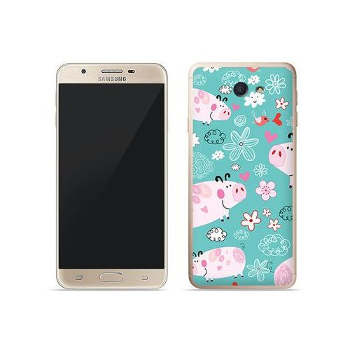 Etuo fantastic case Samsung galaxy j7 prime - etui na telefon fantastic case - różowe świnki