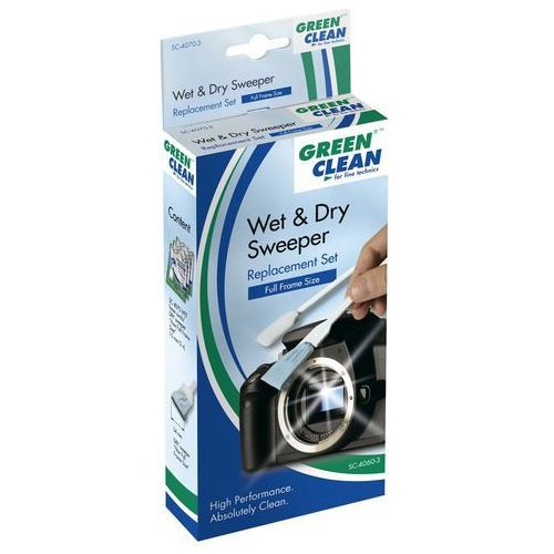 Green clean wet and dry ffs szpatułki mokra i sucha (pełny format) 3 kompl. (9003308540637)