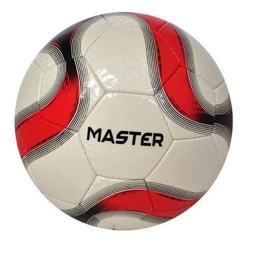 Piłka nożna REKREACYJNA AXER MASTER Red/Silver - Czerwony ||Biały ||Czarny
