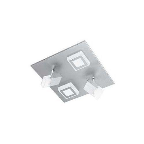 Plafon Eglo Masiano 94512 lampa sufitowa ścienna 2x3,3W/2x5,4W LED aluminium szczotkowane, kolor aluminium