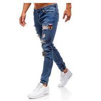 Otantik Spodnie jeansowe joggery męskie niebieskie denley 2026