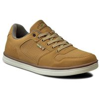 Sneakersy GINO LANETTI - MP07-16904-01 Camel, kolor brązowy