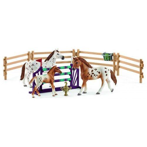 Schleich Zestaw treningowy koń appaloosa