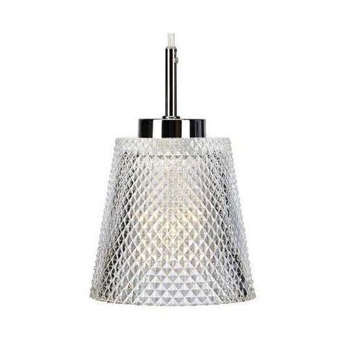 Szklana lampa wisząca lush 107049 modernistyczna oprawa zwis wzorki przezroczysta marki Markslojd