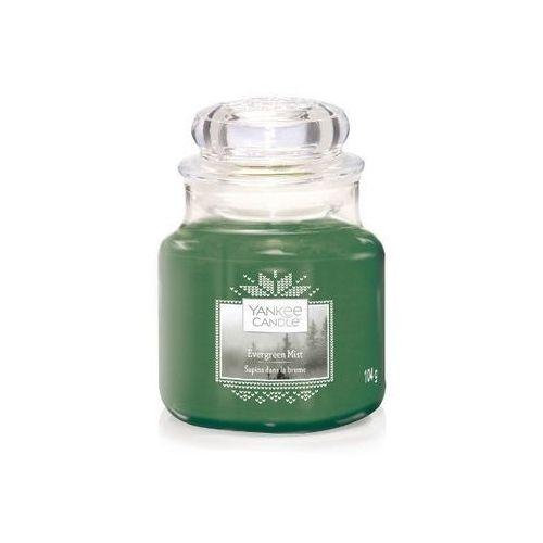 Yankee candle świeca evergreen mist 104g