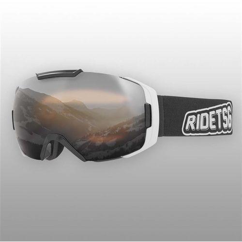 gogle snowboardowe TSG - goggle one foresight black chrome - yellow bonus lens (361)