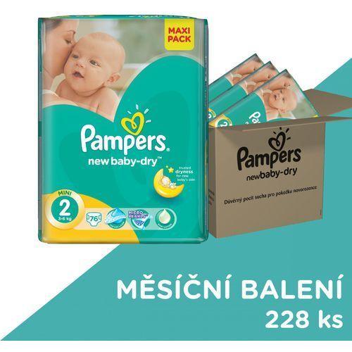 Pampers new baby pieluchy rozmiar 2 mini 228 sztuk zapas na miesiąc (8001090441164). Najniższe ceny, najlepsze promocje w sklepach, opinie.