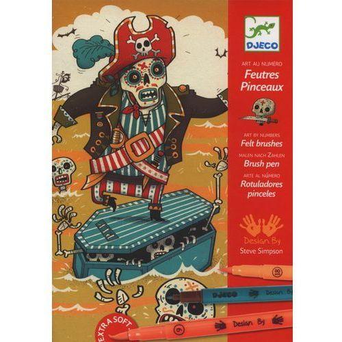Zestaw artystyczny - piraci marki Djeco