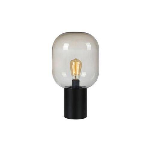 Markslojd Brooklyn 107481 Lampka stołowa 1x60W E27 czarna/przydymiona