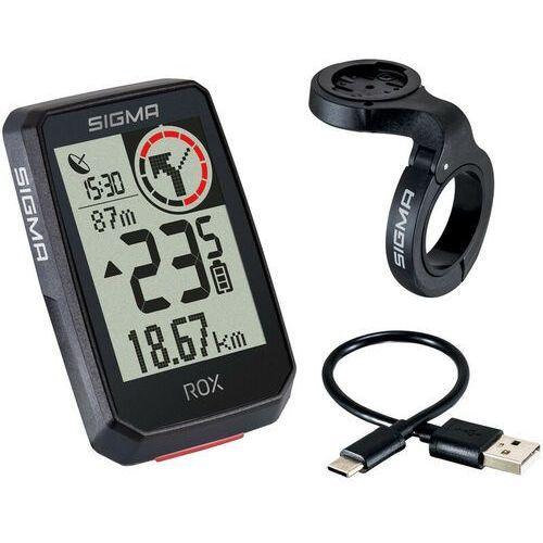 SIGMA SPORT ROX 2.0 Bike Computer incl. Butler GPS Mount, czarny 2021 Urządzenia GPS