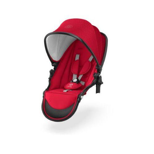 Kiddy tandem siedzisko do wózka evostar 1 chili red (4009749366510)