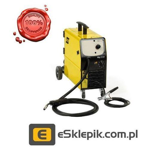 ESAB ORIGO MIG C151 - Półautomat MIG/MAG + uchwyt 2,5m