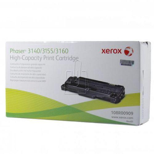 Xerox oryginalny toner 108r00909, black, 2500s, xerox phaser 3140, 3155, 3160 (0095205009095)