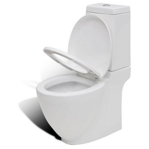 miska klozetowa, toaleta, ze zbiornikiem, nowoczesny design od producenta Vidaxl