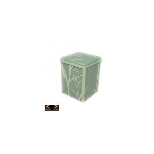 Metalowa puszka na herbatę - Zielona trawa - 100g, 3216