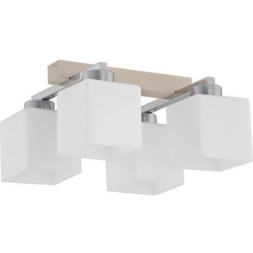 Lampa oprawa sufitowa plafon TK Lighting Toni 4x60W E27 biała 282 (5901780502829)