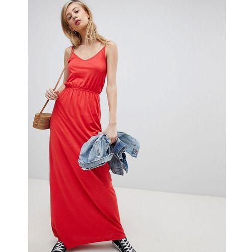 New look strappy maxi dress - red
