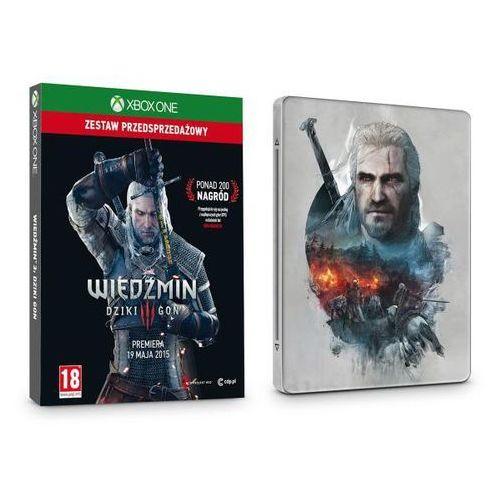 CDProjekt Steelbook Wiedźmin 3: Dziki Gon - Xbox One - produkt w magazynie - szybka wysyłka! z kategorii Pozostałe gry i konsole