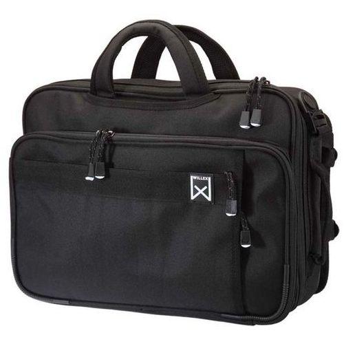 wielofunkcyjna torba biurowa na rower, 20 l, czarna, 12101 marki Willex