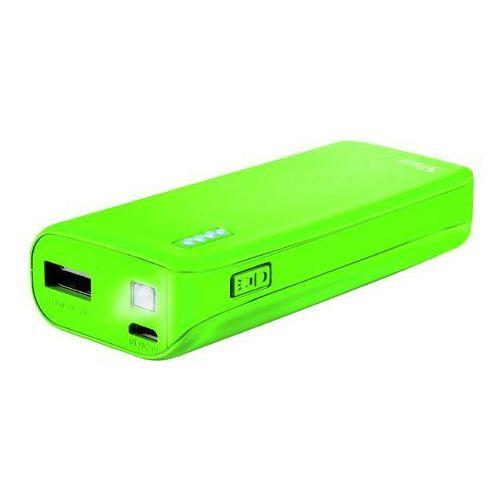 Trust powerbank 4400 primo neonowy zielony (8713439220582)