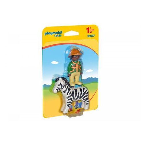 Playmobil Strażnik z zebrą 9257