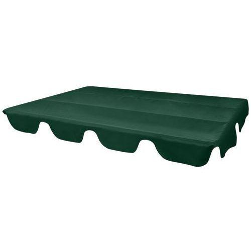 zadaszenie do huśtawki ogrodowej zielone 249x185 cm marki Vidaxl