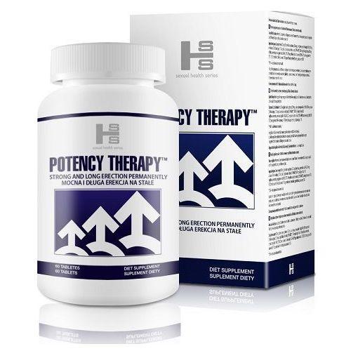 Potency Therapy 60 kaps. Silniejsza erekcja Lepsza potencja na stałe 29990246, 29990246