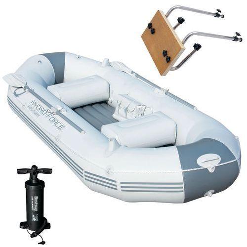 marine pro ponton, łódka z mocowaniem silnika marki Bestway