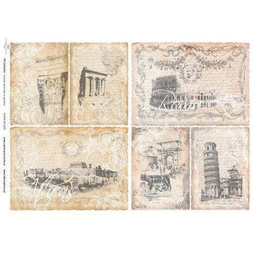 Itdcollection Papier do decoupage 30x42 cm - produkt polski